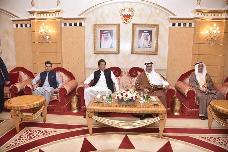 Prime Minister Imran Khan meets Crown Prince of Bahrain