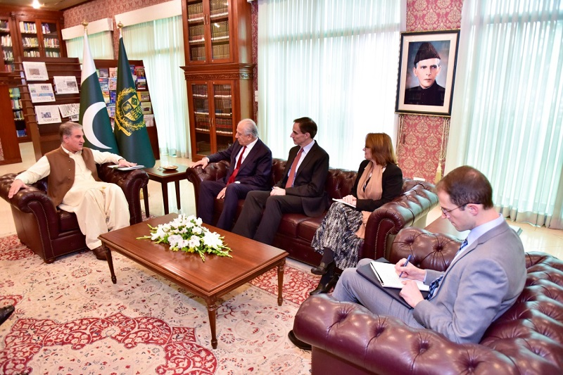 Pakistan to continue playing its role for Afghan peace, Qureshi tells Zalmay Khalilzad