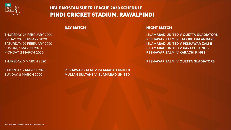 Rawalpindi Cricket Stadium awaits to host PSL 2020 Matches