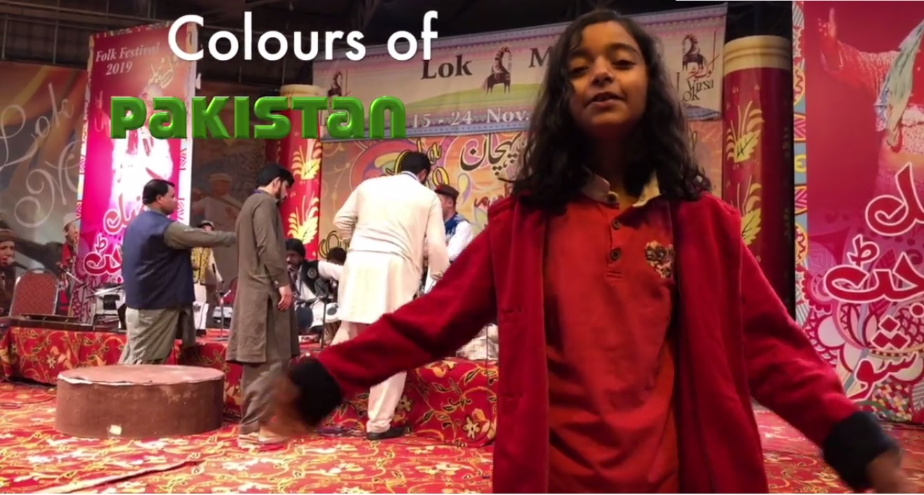 Zainab Hamid is student of Islamabad Convent School (Class one age seven year).
