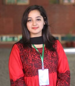 Writer Hina Haroon is a student in Fecality of Media and Communication Studies (FMCS)  University of Central Punjab
