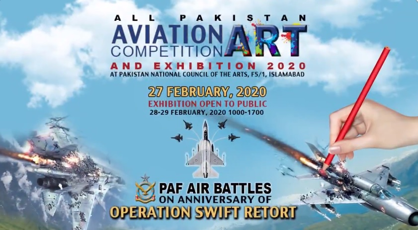PAF organizes first ever Aviation Art Festival in Islamabad on February 27