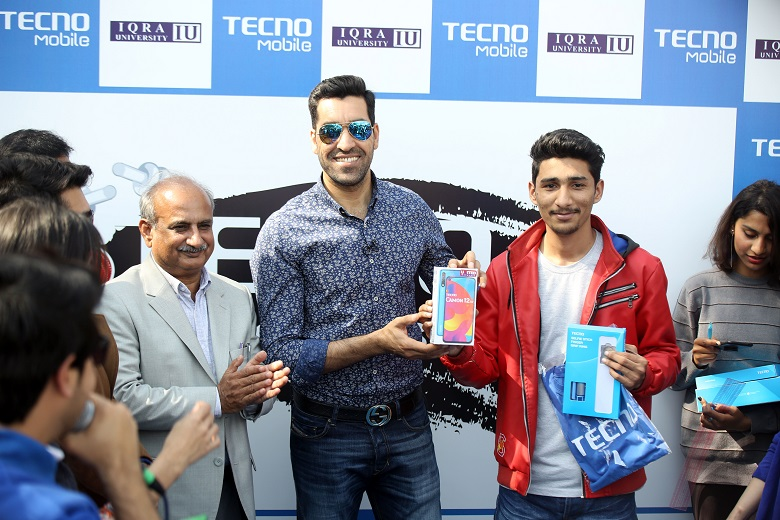 TECNO Cricket Super Star Challenge reaches Iqra University Islamabad