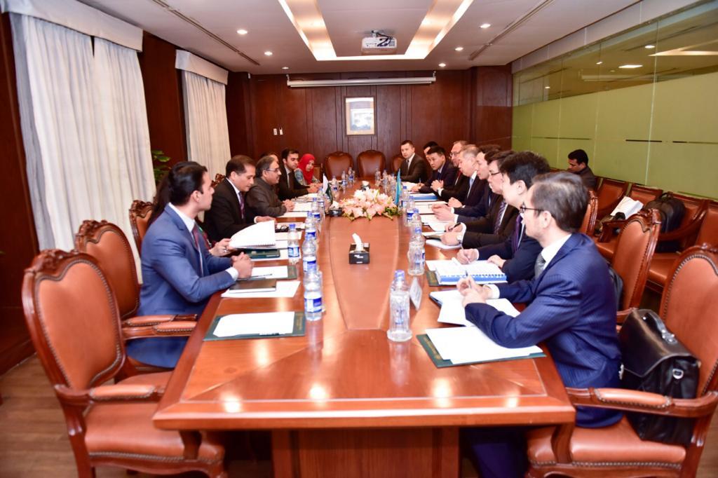 Foreign Secretary Sohail Mahmood, while First Deputy Foreign Minister Shakhrat Nuryshev led the Kazakh side