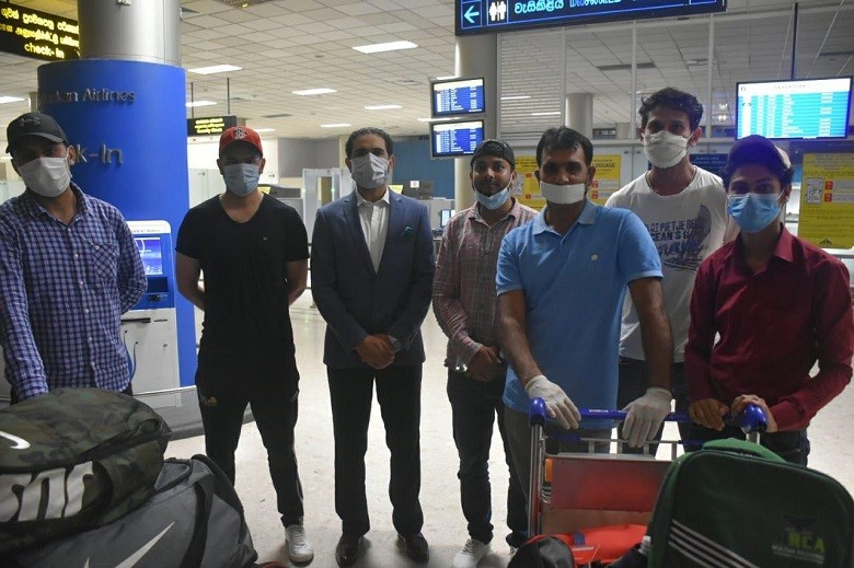 Pakistanis repatriated from Sri Lanka - The Pakistan High Commission in Colombo coordinated with the government of Pakistan and the local Sri Lankan Authorities for the successful return of 50 stranded Pakistanis. The Pakistanis were repatriated via Sri Lankan Airlines flight UL 1185 that left Colombo at 0700 hrs local time on Tuesday.