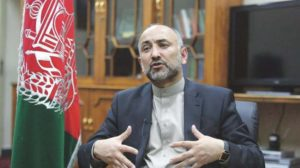 Hanif Atmar - The Foreign Minister Shah Mahmood Qureshi on Monday held a telephonic conversation with the acting Foreign Minister for Afghanistan Hanif Atmar, and discussed prospect of enhancing bilateral relations in all areas.