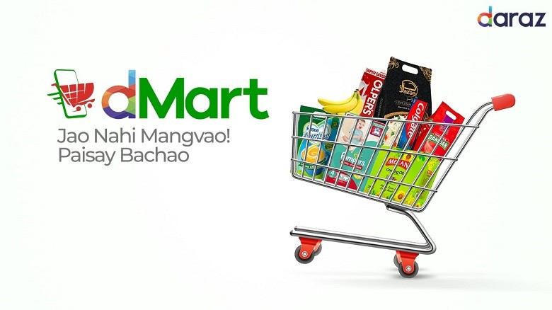 dMart - Daraz has launched dMart – a channel on the platform that offers access to wide range of grocery items including flour, sugar, tea, baby formula, hand washes, sanitizers, surface cleaner, diapers and lentils.