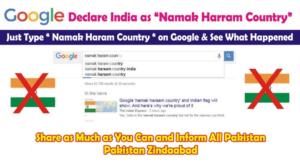 Namak Haram country