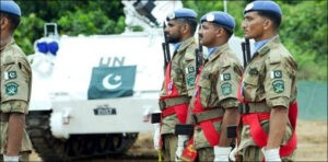 """International Day of UN Peacekeepers - Pakistan has joined the International Community in celebrating """"International Day of United Nations Peacekeepers"""" on Friday, and reiterated its unwavering commitment to the world peace. In a statement, the Foreign Office said that as a consistent leading troop contributing country, Pakistan is cognizant of the important role played by the UN peacekeepers in maintaining security and stability in so many of the world's conflict zones. It said that we salute the services and sacrifices rendered by peacekeepers from around the world and reiterate our solemn commitment to continue working with the United Nations for the ideals of peace, stability and cooperation espoused by the 'blue helmets'. The Foreign Office said that Pakistan is proud of its long-standing contributions to UN peacekeeping spanning over six decades. It said that our peacekeepers have earned well deserved respect and goodwill for their professionalism and devotion to duty in every mission they have participated in. Since 1960, over 200,000 of our servicemen have served with honor and distinction in 46 UN missions in 26 Countries in almost all continents of the world, the Foreign Office said. It said that 157 of our gallant peacekeepers have made the ultimate sacrifice for the cause of international peace and security. It said that Pakistan has also led the way in deputing female peacekeepers in a record time. In 2019, Pakistan met the 15 percent benchmark set by the UN Secretariat in the staff/ officers category. Our lady police officer Shahzadi Gulfam was the first ever recipient of International Female Police Peacekeeper Award in 2011. The Foreign Office said that Pakistan's contribution to peacekeeping on ground has been complemented by our sustained engagement in policy development in peacekeeping. """"We bring a unique perspective to peacekeeping as a leading troop contributing country as well as a host country to one of the oldest peacekeeping missions, UNMOGIP"""