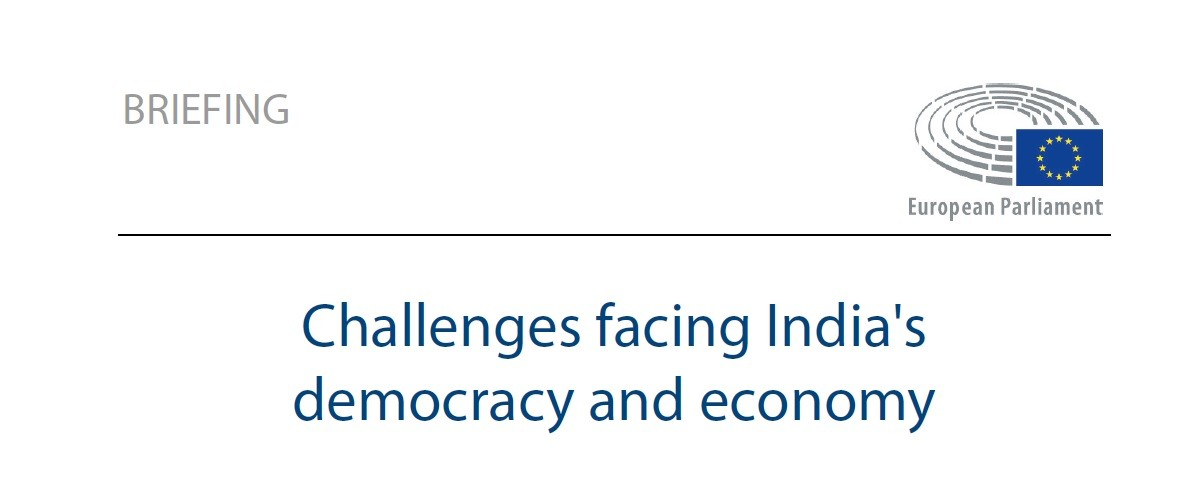 """Research Paper """"Challanges Facing India's Democracy and Economy"""""""