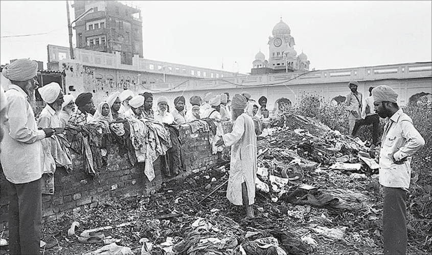 From Operation Blue Star to Operation Black Thunder ----A Systematic Purge of Sikh Community