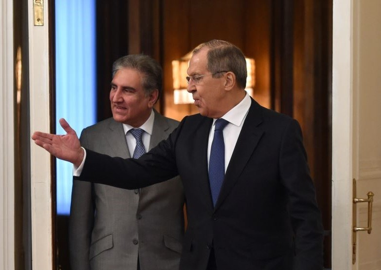 """Sergey Lavrov - The Russian Foreign Minister Sergey Lavrov has wished a speedy recovery to his Pakistani Counterpart Shah Mahmood Qureshi who contracted the Coronavirus infection last week and has been under quarantine since then. """"I have received with concern the news that you have tested positive for COVID-19. I wish you a speedy recovery and robust health. Looking forward to our new meetings,"""" said a special message from Sergey Lavrov for the Foreign Minister Shah Mahmood Qureshi. The prayer message was received through the Russian Embassy in Islamabad. The Foreign Minister Shah Mahmood Qureshi thanked his Russian Counterpart for extending best wishes for his early recovery. In a twitter message on July 3, Shah Mahmood Qureshi apprised that he had felt a slight fever on Friday afternoon and immediately quarantined himself at his home. Qureshi said that he had now tested positive for COVID-19; however, he added that he would continue to carry on his official duties from his home."""