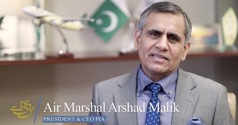 Air Marshal Arshad Malik - The Chief Executive Officer (CEO) of the Pakistan International Airlines (PIA) Air Marshal Arshad Malik held a meeting with Prime Minister Imran Khan in Islamabad on Friday. The CEO PIA briefed the prime minister regarding ongoing negotiations with the European Union Aviation Safety Agency (EASA) to ensure PIA flight operations for Europe. Air Marshal Arshad Malik also briefed the prime minister regarding the restructuring of PIA so as to make it a profitable and leading airline. The prime minister directed to expedite the restructuring plan in consultation with his Advisor on Institutional Reforms Dr. Ishrat Hussain and to present a framework in a week time. Imran Khan emphasized that our government has adopted across the board reforms agenda to make institutions efficient and service oriented. Last Tuesday, the Federal Cabinet approved continuation of service of the CEO PIA Air Marshal Arshad Malik for further three years on a deputation basis after his retirement from the Pakistan Air Force (PAF) on July 12.