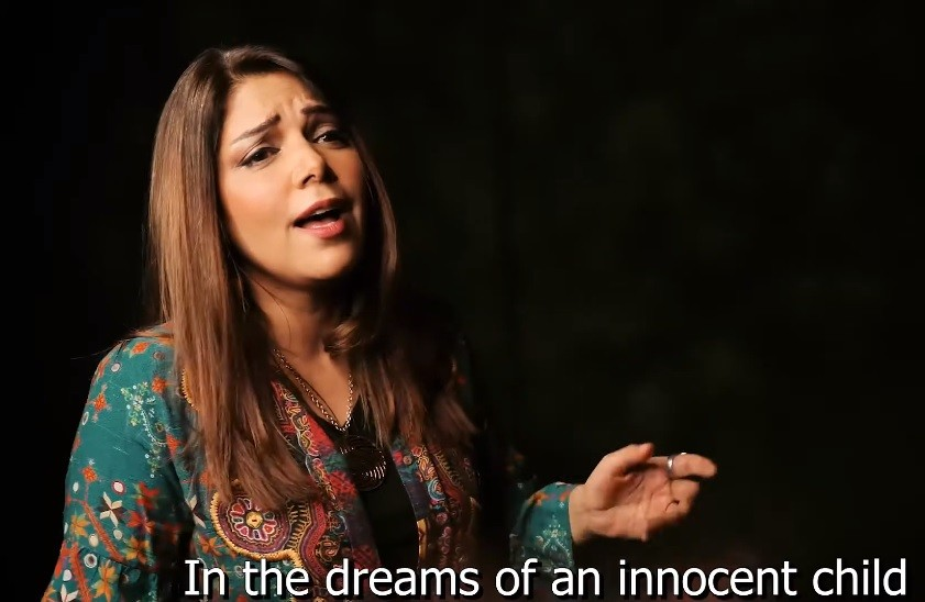 """Eternal Spring - In everlasting memory of martyrs who sacrificed their lives in Indian Occupied Jammu & Kashmir (IOJ&K) on July 13, 1931 and July 15, 2016 in Turkey when a failed coup attempt was made, Pakistan Singer Hadiqa Kiani and Turkish Singer Ali Tolga have sung a song """"Daimi Bahar (Eternal Spring)"""" in Urdu and Turkish languages. The Turkish Lyrics of the song 'Eternal Spring' were written by the Turkish Songwriter Turgay Evren whereas Hadiqa Kiani wrote its Urdu Lyrics. English Lyrics of the Song 'Daimi Bahar (Eternal Spring)'; The Crescent is sad in the sky They stars are falling down In the grips of an occupation Hopes are feeling cold In the dreams of an innocent child In the smiles of a rose On the bright face of a martyr Dark clouds disappear Your way is my way, o martyr We walk in your footsteps On 13th, 15th July We fall to the earth In a spring morning We will bloom in Kashmir To a world full of honor We will wake up with you In a spring morning We will bloom in Kashmir To a world full of honor We will wake up with you From the darkness of oppression Take me to the light of peace Help us change our condition dear Lord It's our sincere prayer Open the doors of your mercy Open them over there In the beautify valley of Kashmir This is our humble request Your way is my way, o martyr We walk in your footsteps On 13th, 15th July We fall to the earth In a spring morning We will bloom in Kashmir To a world full of honor We will wake up with you In a spring morning We will bloom in Kashmir To a world full of honor We will wake up with you The song 'Eternal Spring' has been released on July 13, 2020 when Kashmiris on both sides of the Line of Control (LoC) and across the globe are observing the Kashmir Martyrs' Day to pay homage to the 22 innocent and unarmed Kashmiris who stood up for truth and justice against the tyranny of the Dogra force in 1931."""
