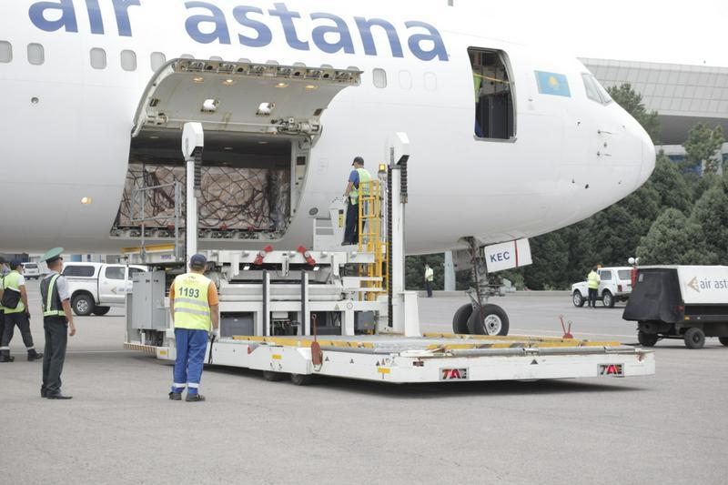 India sent 30 tons of medical cargo to Kazakhstan