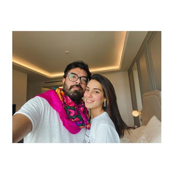 Iqra Aziz - The most popular couple in the town Iqra Aziz and Yasir Hussain is having a great time in quarantine these days and they are making best memories out of it. We know that Iqra Aziz always remains active on her Instagram account and shares everything related to her personal and professional life with her fans there. Iqra & Yasir's Relation It needs no explanation that how much Iqra Aziz and Yasir Hussain love each other. Taking a view of their pre-marital and post-marital life, despite so many controversies and bashing by a number of followers on social media platforms, the couple has always enjoyed every moment together. Moreover, Iqra and Yasir keep on sharing pictures as well as videos on their Instagram accounts which make them gain great attention and their fans always love them. Yasir Hussain has done everything to impress Iqra Aziz and the best example of this thing is that he made Iqra choose him as a life partner. Iqra Aziz's Love for Yasir Hussain So Iqra Aziz has always returned love equally to her husband Yasir Hussain and just like always, she has posted some of the lovely pictures while showering love over Yasir. Here we have got these clicks for you! And… Here we have got some more clicks from the recent past where we can see the couple is looking so adorable sharing affectionate moments! Iqra Aziz's Recent Projects These days we can watch Iqra Aziz performing the best in drama serial Jhooti in the lead role as Nirma. This drama is on aired at ARY Digital every Saturday at 08:00 PM. The amazing thing about this drama is that Iqra is performing along with her real life husband Yasir and they are showing their talent in negative roles at their best. This is the first drama that the couple is working together after getting married. We know that our beloved Iqra Aziz is super talented actress and we hope that this couple would rock together in the future projects as well making people fall in love with their brilliant acting every time.