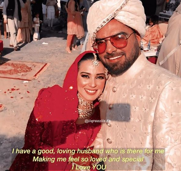 Iqra Aziz - The most popular couple in the town Iqra Aziz and Yasir Hussain is having a great time in quarantine these days and they are making best memories out of it. We know that Iqra Aziz always remains active on her Instagram account and shares everything related to her personal and professional life with her fans there. Iqra & Yasir's Relation It needs no explanation that how much Iqra Aziz and Yasir Hussain love each other. Taking a view of their pre-marital and post-marital life, despite so many controversies and bashing by a number of followers on social media platforms, the couple has always enjoyed every moment together. Moreover, Iqra and Yasir keep on sharing pictures as well as videos on their Instagram accounts which make them gain great attention and their fans always love them. Yasir Hussain has done everything to impress Iqra Aziz and the best example of this thing is that he made Iqra choose him as a life partner. Iqra Aziz's Love for Yasir Hussain So Iqra Aziz has always returned love equally to her husband Yasir Hussain and just like always, she has posted some of the lovely pictures while showering love over Yasir.
