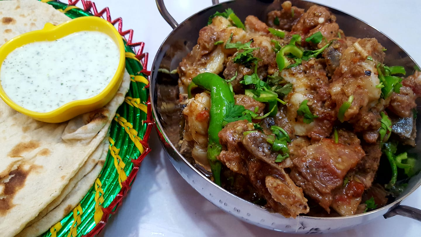 Eid-ul-Adha is all about rejoicing the spirit of sacrifice while following the Sunnah of Hazrat Ibrahin (A.S). Not only that but it also gives us an opportunity for family gatherings and enjoying good food together while chit chatting about everything amazing to make it a wonderful memory. This Eid-ul-Adha, try this mouthwatering recipe of Namkeen Gosht to make the event hard to forget. Here you go with the recipe! Ingredients Meat 1 KG (Mutton or Beef) Salt to taste Black Pepper 1 Tsp Soy Sauce 3 to 4 Tbsp Recipe The preparation time for Namkeen Gosht is almost 45 minutes to an hour. It is oil free recipe and delicious like any of the best meaty dishes. Follow these easy steps to make Namkeen Gosht to make this Eid-ul-Adha special with your friends and family: Step 1 In a pressure cooker, put 1 KG meat (Mutton or Beef) after giving it a clean wash and cutting it into small pieces. Step 2 Now add salt to taste, black pepper, water as per requirement or 3 glasses to give pressure to meat in cooker. Step 3 Note that if you are going to make mutton meat, you need to give it pressure in the cooker for half an hour and if it's beef then make it 45 minutes. Step 4 As you will open the pressure cooker, check first if the pieces are properly cooked. Step 5 Now add Soy Sauce around 3 to 4 tbsp in the end while keeping on low heat and mix it well until it looks mouthwatering good. Don't add oil as meat fat is enough to make it have light greasy touch. Step 6 Serve hot with scrumptious mix salad and chapatis. You will definitely love it!