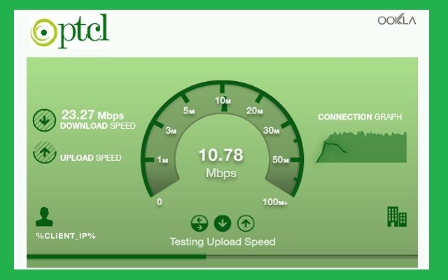 The PTCL internet speed test is crucial if you are an aggressive streamer or a gamer. It allows you to know what your bandwidth it