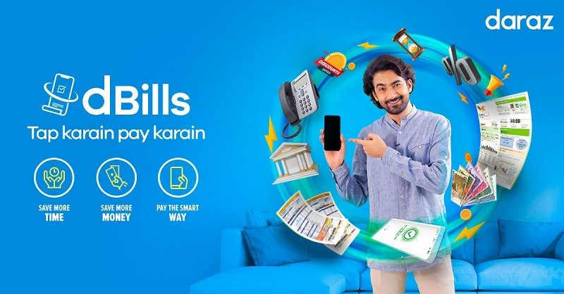"""dBills - Expanding its ecommerce footprint and propelling digitization in the Country, Daraz, the leading platform for online shopping, has focused on innovative answers that will not only propel digitization in the Country but also offer millions convenience in fulfilling routine tasks. The platform has launched dBills - a channel dedicated to the payment of electricity, water, telephone-internet and gas bills which will eliminate the need for Pakistanis to step outside of their houses to clear their dues. The COVID19 pandemic has proven a catalyst for change and digital adoption in Pakistan with consumers relying on digital solutions for entertainment, to shop and to make payments. Daraz is focused on offering innovative answers that offer millions convenience in fulfilling routine tasks. dBills allows customers to make payments using a variety of digital payment methods including credit cards and offers discounts up to Rs 500. Daraz has simplified the payment process so customers can easily open their Daraz app, enter their details and make their payment. The platform has partnered up with NADRA to ensure that customers across the country are able to avail the channel. """"Customer-centric innovation remains the driving force at Daraz and over the past few months, we have focused more keenly on offering our users digital solutions for different areas of life. We are confident that dBills will revolutionize utility bill payments in Pakistan while offering unprecedented ease to millions of Pakistanis,"""" the Regional Head of Digital Channel at Daraz Riaz Ali said. The launch of dBills has been preceded by the launch of dTravel through which customers have easy and immediate access to online bus tickets for intercity travel. The channel serves as a unique one-stop solution as it allows customers to browse routes, timings and prices from different bus services, eliminating the need for customers to visit different digital platforms to search for tickets that suit their pr"""