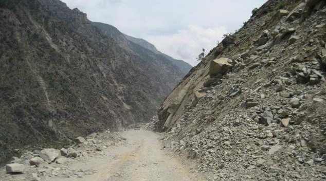 This 125 km patch will take 5 to six hours because there is no road at all after 35km from Chilas towards Dasu