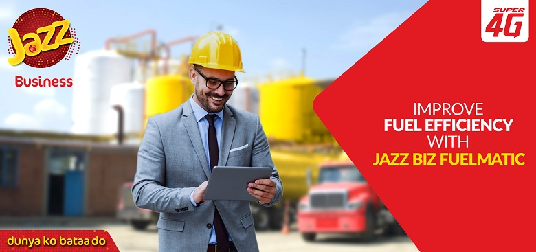 """Jazz, Pakistan's leading digital service provider, has partnered with Omnicomm, a global telemetry and fleet management solutions provider, to introduce 'Jazz Biz Fuelmatic', an Internet of Things (IoT) based fuel management solution allowing businesses to minimize their environmental impact by achieving energy efficiency.  This collaboration is an initiative of Jazz Business, which has the largest and most comprehensive portfolio of B2B ICT services and is currently serving 95 of the top 100 PSX listed companies.  In collaboration with Omnicom's local partner Xtreme Tracking Solutions, Jazz Business will provide this integrated solution for managing the fuel consumption of diesel generator set (genset), as well as monitoring of various fuel storage units including bowsers and underground tanks. This fuel management system connects to the genset or fuel storage to monitor almost any parameter with data from fuel-level sensors and other external sensors and transmits this data in real time to a cloud-based online, self-service platform.  The self-service platform empowers administrators and logistic units with the option to start and stop equipment remotely, and provides geographic information system mapping, geofencing, remote monitoring and diagnostic alerts as well.  According to Syed Ali Naseer, Chief Business Officer, Jazz said, """"We realize that power generation is a high-end operating cost for most businesses, and with our partnership with Omnicomm, the aim is to empower businesses to better monitor and analyze fuel efficiencies in their fleet or machinery to better control costs.""""  The introduction of this solution is in line with the vision of Jazz Business to revolutionize Pakistan's enterprise landscape by helping businesses achieve cost and operational excellence through easy adoption of IoT and digitalization of work processes."""