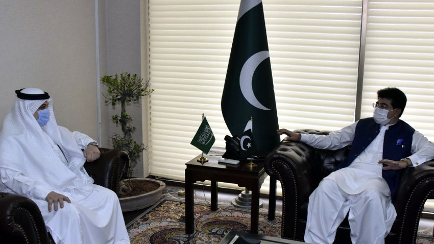 Israel - The Chairman Senate Sadiq Sanjrani has said that Pakistan can never recognize Israel and added that it will continue to stand by Saudi Arabia in the need of hour. Talking to the Saudi Ambassador to Pakistan Nawaf bin Saeed Ahmad al- Maliki at the Parliament House Islamabad on Monday, the Chairman Senate said that Pakistan and Saudi Arabia enjoy cordial relations and they have always stood with each other in every difficult time. Sadiq Sanjrani said that the two Countries always work in consultation on international issues and problems. The Chairman Senate said that the Pakistani Parliament, especially the Upper House, reiterates its commitment that no sacrifice will be spared for the protection of the holy places in the Kingdom. In addition, he remarked that we can never forget Saudi Arabia standing by Pakistan in every difficult time.