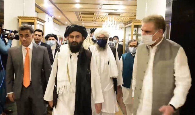 Afghan Taliban - A six-member Afghan Taliban delegation led by Mullah Abdul Ghani Baradar arrived at the Ministry of Foreign Affairs in Islamabad on Tuesday to discuss the way forward to the Afghan peace process. The Foreign Minister Shah Mahmood Qureshi led the Pakistani delegation in the talks. In the talks, the two sides exchanged views on various issues of mutual interest including recent developments in the Afghan peace process, and expeditious convening of the intra-Afghan talks. The Afghan Taliban delegation apprised the foreign minister on the latest situation regarding the implementation of the Taliban-US peace deal. Talking to the delegation, Shah Mahmood Qureshi said that from day one, Pakistan has maintained that a lasting and durable solution to the Afghan problem is possible only through the Afghan-led dialogue process. The foreign minister said that Pakistan has been playing its conciliatory role in the Afghan peace process under a shared responsibility. Qureshi said that Pakistan's sincere reconciliation efforts yielded fruits in the form of a peace agreement between the United States and the Afghan Taliban in Doha on February 29. Shah Mahmood Qureshi expressed hope that the Afghan leadership will take full advantage of the peace deal and ensure a stable and peaceful Afghanistan. The minister further said that Pakistan is desirous for the early start of intra-Afghan talks to ensure the establishment of peace and stability in the region.
