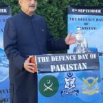 Defence Day - The Embassy of Pakistan in Kyiv commemorated 6th September 2020 as Defence Day as well as Kashmir Solidarity Day. The ceremony began with recitation of the Holy Qur'an. After the national anthem, the messages of President Dr. Arif Alvi and Prime Minister Imran Khan were read out on this occasion. During his remarks, Ambassador Zahid Mubashir Sheikh highlighted the sacrifices rendered by the valiant forces of Pakistan during the last more than seven decades. Ambassador Zahid Mubashir Sheikh said that Pakistani security forces have been serving the nation on all possible fronts and have offered numerous sacrifices for safeguarding their beloved Country since independence. Be it protecting the national frontiers during the wars of 1948, 1965, 1971, Kargil conflict or in peace time or providing relief during any natural calamity like the devastating earthquake of 2005, destructive floods of 2011 or the ongoing heavy rains in the country which have wreak havoc especially in Karachi, Pakistani forces have always been in the forefront to serve their people and Country. Zahid Mubashir Sheikh added that our security forces have also been providing security to all projects related China-Pakistan Economic Corridor (CPEC) across the country. The ambassador further said that Pakistani forces are ever ready to protect their motherland and respond to any kind of misadventures from the enemy. The readiness and resolve of our armed forces was witnessed by the world when our forces effectively responded to the Indian misadventure on 27th February 2020 by downing their jet and capturing their pilot. However, Pakistan is a peace loving country and showed its intent towards promoting peace in the region by releasing the captured Indian pilot unconditionally. The ambassador also highlighted contributions of the Pakistani armed forces in United Nations' peace keeping Missions. He said that Pakistan has been one of the biggest and most consistent troop contributors to the UN 