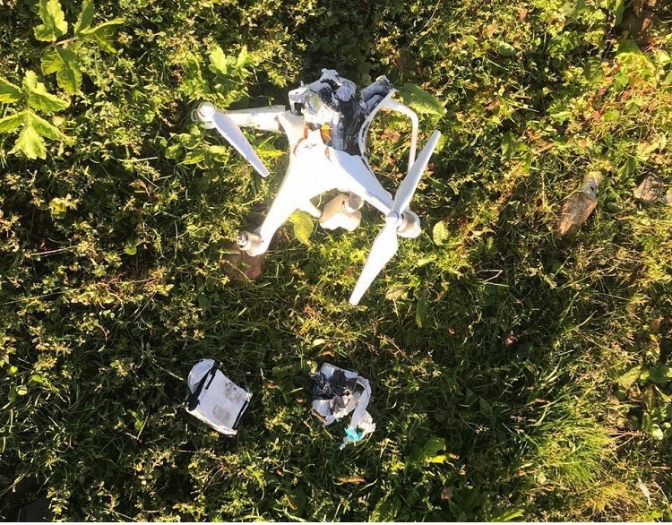 Indian spying quadcopter - Pakistan army troops have shot down an Indian spying quadcopter in Chakothi Sector along the Line of Control (LoC), the Inter Services Public Relations (ISPR) said. In a statement issued on Wednesday, the ISPR said that the quadcopter had intruded 500 meters on Pakistan's side of the LoC. The ISPR said that this is 11th Indian quadcopter shot down by Pakistan army this year.