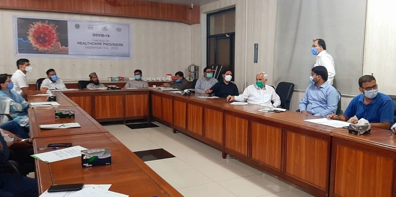 """NIH - The National Institute of Health (NIH) Islamabad will train around 400 clinical and hospital management staff working at different hospitals across the country under its series of training and capacity building workshops. The NIH Islamabad started to arrange a series of training and capacity building workshops for clinical preparedness and response to COVID-19 all over Pakistan. The successions of these Training of trainers on Clinical/Hospital management in the context of COVID-19 will help healthcare facilities and personnel strengthen their response to COVID-19, and to improve the health care system to """"build back better"""" after the pandemic. These training workshops are planned to be carried out in all provinces and regions of Pakistan. The first three training sessions have been started at Lahore, Rawalpindi, and Multan targeting the clinical specialists and hospitals top managements for health service strengthen and support health workers during the COVID-19 pandemic and beyond. A total number of 15 training workshops will be conducted at Rawalpindi, Multan, Lahore, Quetta, Muzaffarabad, Mirpur, Gilgit, Abbottabad, Swat, Peshawar, Karachi, Hyderabad, and Sukkur, during the month of September 2020. Around 400 clinical and hospital management staff working at different hospitals in Pakistan will be trained under this initiative. The Executive Director of the National Institute of Health Professor Major General Aamer Ikram has said that Preparedness is Key to Success. Before the COVID-19 pandemic, NIH conducted a similar series of training for points of entry, all over the country, in December 2019 and they performed well in delaying COVID-19 disease in Pakistan, he added. He said that these workshops will help the whole country in the establishment of Isolation facilities, diagnostic facilities, RRT deployment, and treatment for COVID-19 patients at the district level, risk communication, infection prevention, and control against COVID-19. He assured that t"""