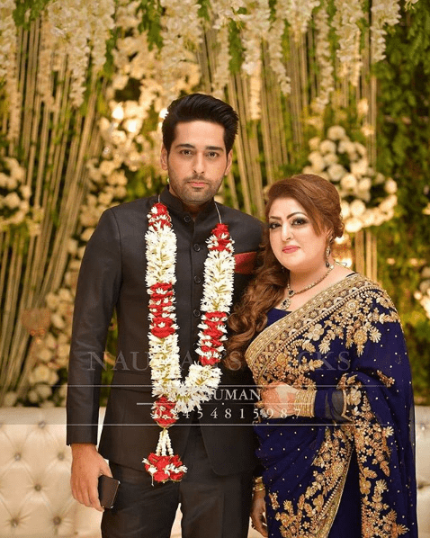 Salman has got married on Friday night in a private ceremony held in Lahore. The topnotch celebrities like Adnan Siddiqui, Wasay Chaudhry, Imran Ashraf, Ahmad Ali Butt, and others attended the wedding reception. Cricketer Azhar Ali also showed up on this occasion. Here we have got some of the clicks from Salman's wedding.