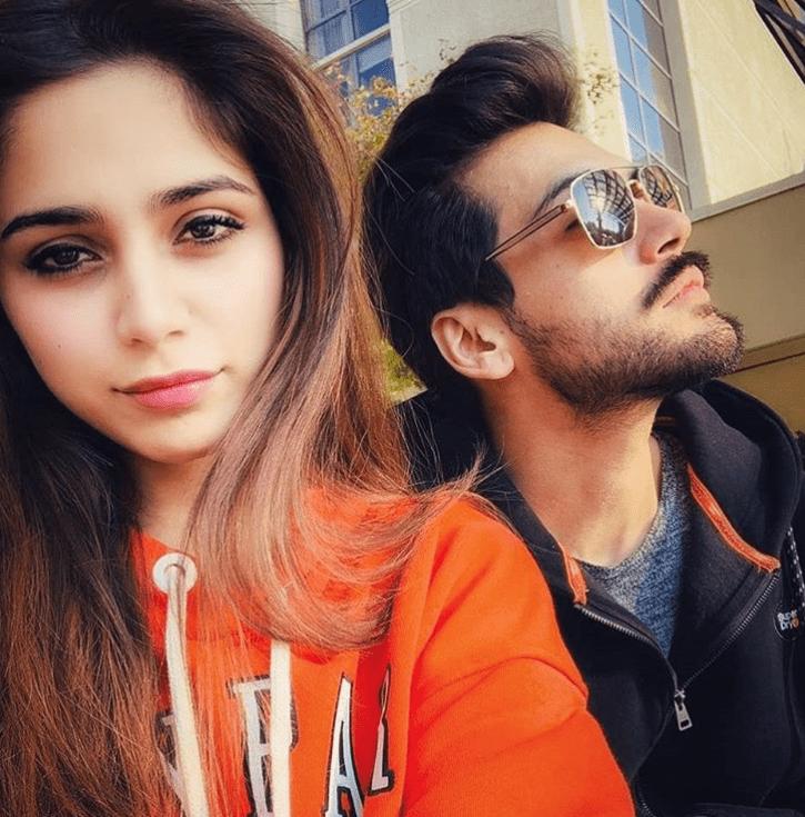 Aima Baig and Shahbaz Shigri