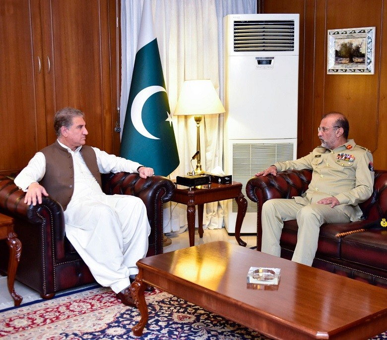 Strategic Plans Division - The Director General of Strategic Plans Division (SPD) Lt General Nadeem Zaki Manj met the Foreign Minister Shah Mahmood Qureshi at the Ministry of Foreign Affairs in Islamabad on Wednesday. Lt General Nadeem Zaki briefed the foreign minister on the performance of the division. The foreign minister appreciated the role of the Strategic Plans Division.