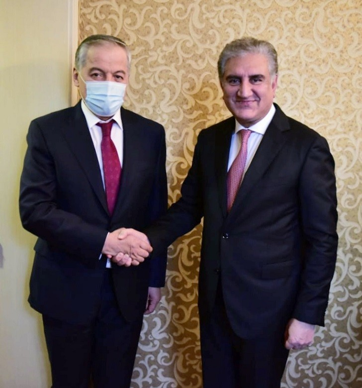 Pakistan-Tajikistan cooperation - Pakistan and Tajikistan have agreed to promote bilateral cooperation in the fields of trade, investment, industry, transport, agriculture, and tourism. The understanding was reached in a meeting between the Foreign Minister Shah Mehmood Qureshi and his Tajik Counterpart Sirojiddin Muhriddin held in Moscow on Wednesday on the sidelines of the Meeting of the SCO Council of Foreign Ministers (SCO-CFM). During the meeting, the two foreign ministers expressed satisfaction over the current nature of Pakistan-Tajikistan bilateral relations and reiterated their commitment to further strengthen and consolidate it. The Foreign Minister Shah Mahmood Qureshi said that the Joint Ministerial Group and the Multilateral Joint Working Groups are important forums for the promotion of bilateral cooperation between Pakistan and Tajikistan in various fields and the achievement of common goals. Both the dignitaries also discussed peace efforts in Afghanistan. Shah Mahmood Qureshi said that Pakistan will continue to play its reconciliatory role for peace in the region including the peace process in Afghanistan. The foreign minister briefed his Tajik Counterpart on serious human rights violations by Indian forces in Indian Illegally Occupied Jammu and Kashmir (IIOJK). Shah Mahmood Qureshi said that India continues to violate the Line of Control (LoC) and targeting innocent civilians which is a clear violation of international law. Qureshi said that India wants to jeopardize the peace and stability of the entire region through its Hindutva ideology. The two foreign ministers also discussed the COVID-19 and the effective measures taken to control the pandemic.
