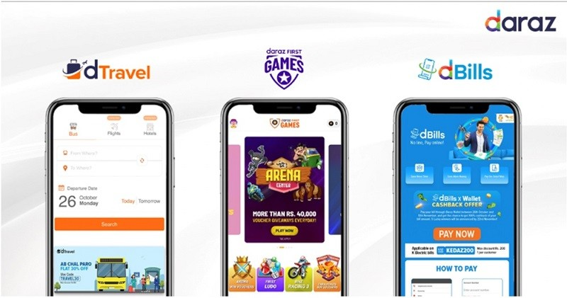 """11.11 Sale - Daraz, being one of the major contributors to the e-commerce industry in Pakistan, Daraz has grown into multiple categories to become the customer No.1 choice app. In preparation of the 11.11 Sale, Daraz introduces the concept of a super app with Games (Daraz First Games), Utility Bills (dBills), and Online bus tickets booking (dtravel)on top of world class shopping UI/UX. Ammar Hassan, CMO Daraz said, that, """"Time on App is becoming the single most important metric for tech brands. For the same, we are introducing multiple services to amplify user engagement giving more reasons to use Daraz for a Pakistani Internet user."""" Daraz First Games has more than 20+ highly engaging games including Ludo and cricket. During 11.11,  Daraz will also be holding an inter-country Ludo tournament amongst 4 of its markets: Pakistan, Bangladesh, Sri Lanka, and Nepal. Previously, the DFG platform has successfully achieved more than 1 million users which shows an increase in interest. The platform has recently launched dBills - a channel dedicated to the payment of electricity, water, telephone, internet, and gas bills which will eliminate the need for Pakistanis to step outside of their houses to pay their bills. dBills has facilitated more than 100,000 customers with their bill payments with a success rate of 100%. Currently, Daraz is offering bill payment for more than 20 service providers including KElectric, PTCL, SSGC, SNGPL, WAPDA, and NEPRA distribution companies powered by NADRA E-Sahulat technology The ecommerce leader has also stepped into the travel industry by launching dTravel this year which allows customers to buy their bus tickets to any city in Pakistan with the best deals available and get real-time information regarding bus ticket prices and timing. It is active in more than 118 cities with 18+ service providers including Daewoo, Bilal travels, New Khan, Roadmaster, ITC, and a lot more. Daraz the biggest online shopping platform believes in providing som"""