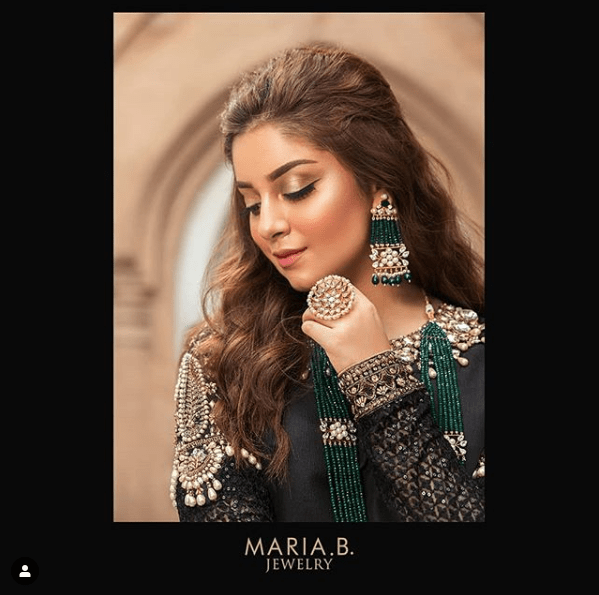 Alizeh Shah Exhibits Alluring Jewelry Collection in Latest Photoshoot!
