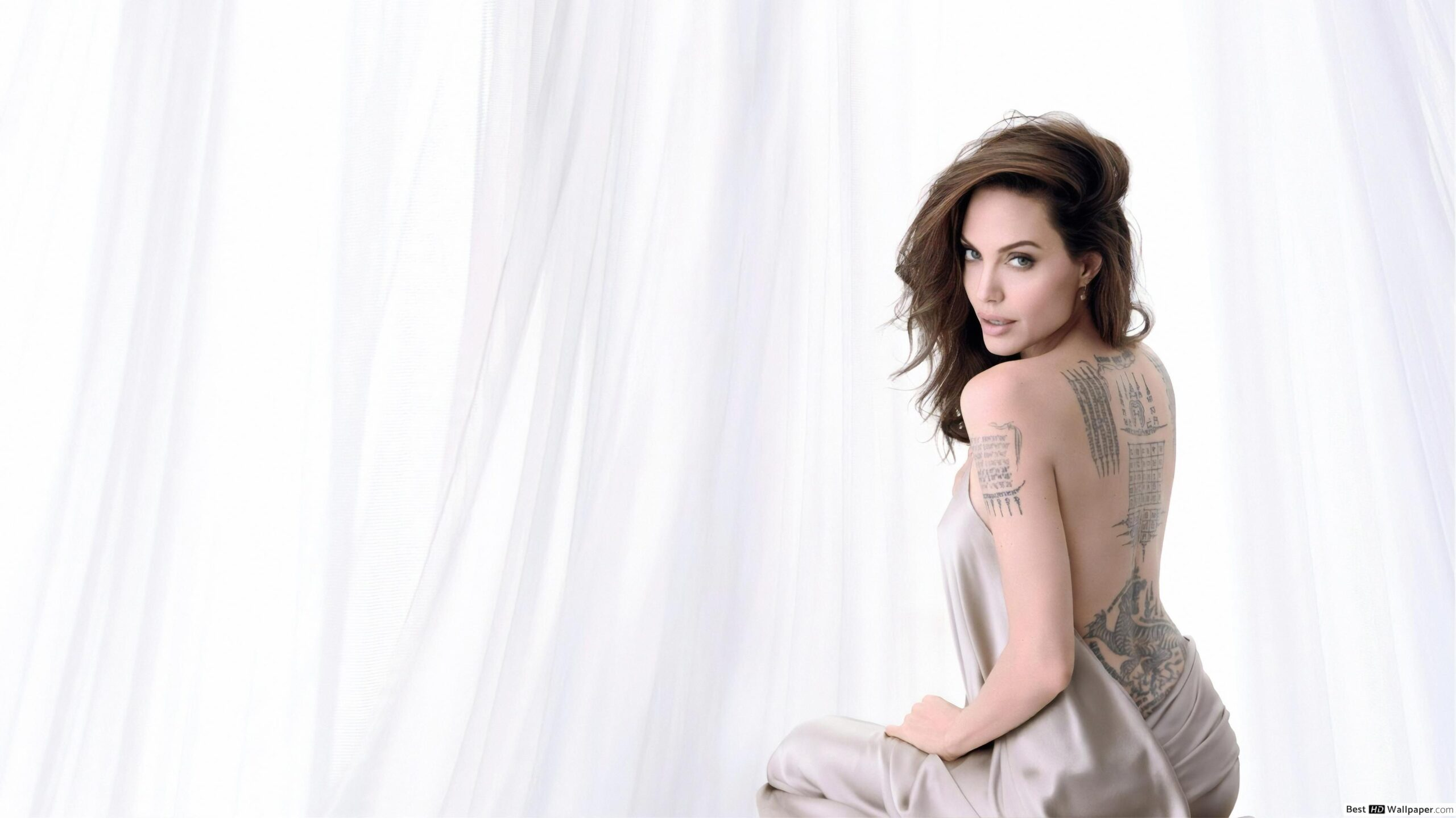 Check out this hot and stunning collection of Angelina Jolie's clicks that will leave you amazed. Her magnificent beauty and stylish dressing always make her the center of attention for the fans around the world. Take a look!