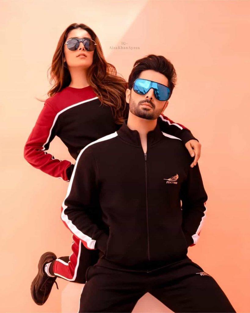 Ayeza Khan Presents Vibrant Sporty Look from Latest Photoshoot!