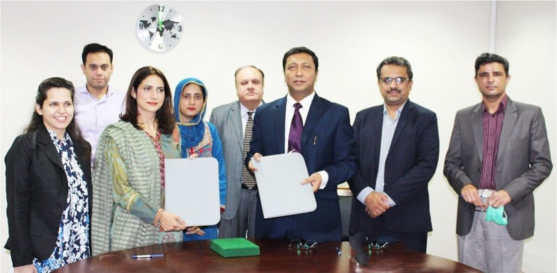 Pink Trust Pakistan - COMSTECH and Pink Pakistan Trust have agreed to work towards the achievement of shared objectives of good health and wellbeing of women in the Organization of Islamic Conference (OIC) region. The MoU was signed by the Coordinator-General COMSTECH Professor Dr. Iqbal Choudhary and the President Pink Trust Pakistan Dr. Zubaida Qazi at the COMSTECH headquarters in Islamabad on Thursday. Under the MoU, the two organizations will work together for spreading awareness to reduce the mortality rate of breast cancer and promote women's wellbeing and empowerment. Both parties will jointly organize awareness sessions, seminars, conferences, workshops, and training research and counseling support for eradicating breast cancer to the women of the marginalized communities of the OIC Member Countries. COMSTECH through its various Inter-Islamic Networks and programmes shall partner with the Pink Foundation towards spreading awareness regarding breast cancer and early detection of breast cancer purely on a voluntary basis for the welfare and wellbeing of marginalized communities to work for the noble cause.