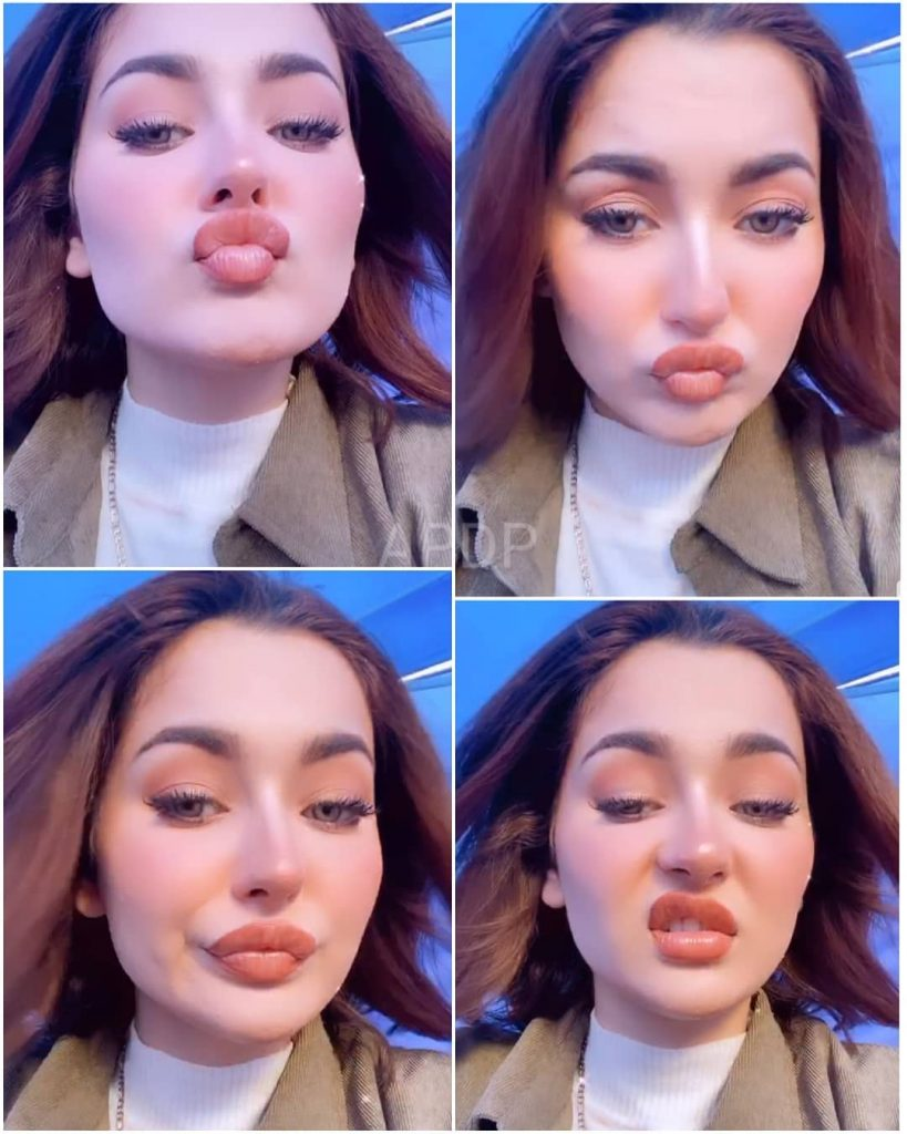 Hania Amir is quite active these days on Instagram and keeps on sharing videos from her different fun jam sessions. Aashir Wajahat is always with Hania to partner her during these exciting music sessions. Here we have got a new video of Hania Amir with Aashir singing Ali Zafar's song. Check out the video! Hania Amir Sings 'Rockstar' With Aashir Wajahat Hania and Aashir are doing fantastic with their spontaneous jam sessions together and here we have got a new video from Instagram. This time, the selection of the song was from Ali Zafar's hits. So, Aashir plays the guitar and Hania sings 'Rockstar' along with his jam session partner. Watch this fantastic video now! Well...this is not the first time that Hania and Aashir have entertained the fans this way. Recently, Hania Amir posted a video on her Insta in which she sang 'Baari' in her soulful voice. The fans gathered in the comments section and couldn't hold words to admire the way she played with her vocals for this amazing song. Furthermore, Hania's English song video went viral on social media as it was a fantastic attempt and fans were all in love with her voice. Why Hania Has Been the Center of Attention These Days? Recently, Hania posted her pictures on Instagram from a new series Meray Dost Meray Yaar. She received great criticism over her dressing. It was not only the Hania's dressing that bothered her fans but they were not feeling good about having lip fillers. The fans continued to comment and criticize her about why she has got that lip filler treatment when she is naturally so gorgeous. However, according to some reports, that wasn't actually Hania went through the lip filling process, however, it was all about the filter she uses. Well... people always react strangely towards celebrities as they shower their posts with loads of love. Just next to that, they get disturbed with any post and it ignites the troll session. What do you think about Hania and Aashir's latest jam session? Please share your view