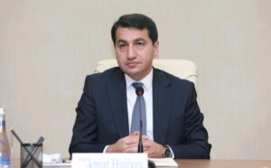 """Armenians - As the fierce fighting between the Azerbaijani and Armenian forces in the Nagorno-Karabakh region continues, Azerbaijan's top official claims to have decimated the opponent saying that they are now helpless on the battlefield, AZERTAC reported. """"We are all mobilized today. We all have the same the goal, which is to liberate our lands that are under occupation. Armenians are hopeless and desperate on the battlefield,"""" Assistant to the Azerbaijani President, Head of Foreign Policy Affairs Department of the Presidential Administration Hikmat Hajiyev told media in Baku. """"We assess the situation as a military and political provocation. Armenians are trying to involve third parties into the conflict. The Azerbaijani side is well aware of this, and has informed international organizations and countries about this,"""" Hikmat Hajiyev added."""