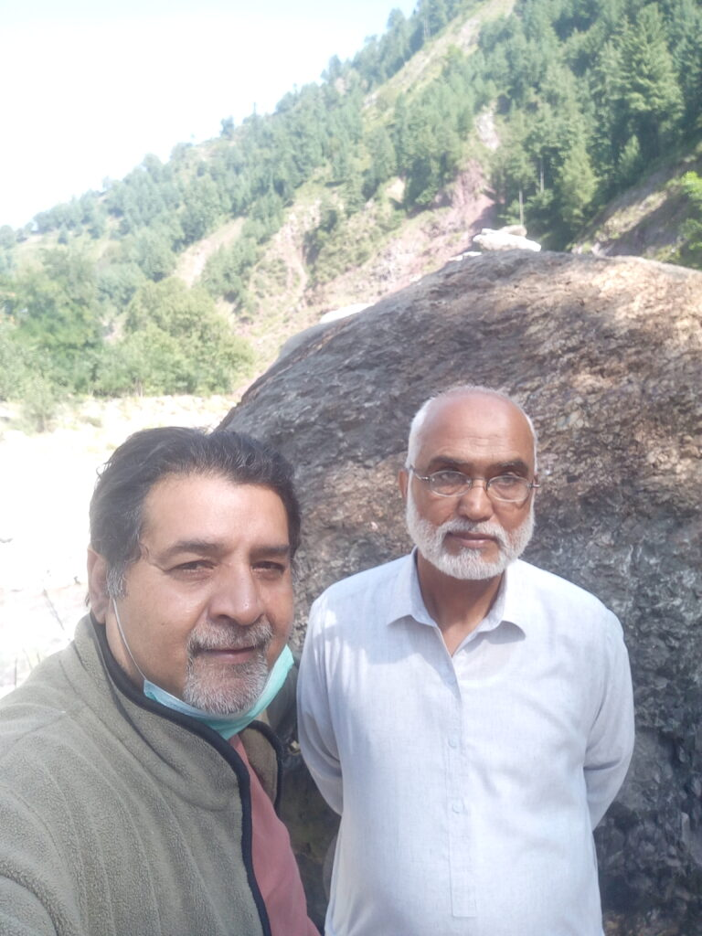 Last month I was invited by Chairman of Ghanool Welfare Society Mr. Ghulam Rasul who is a retired officer from the Foreign Office of Pakistan