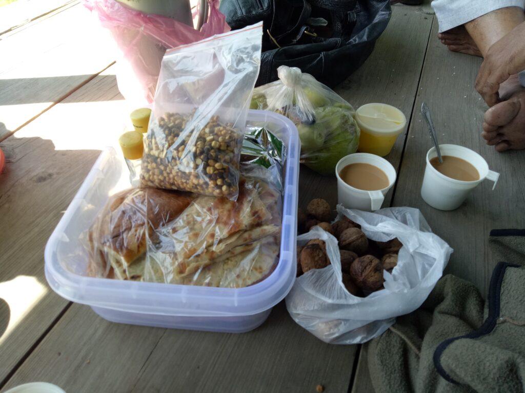 Lunch at Danna Peak