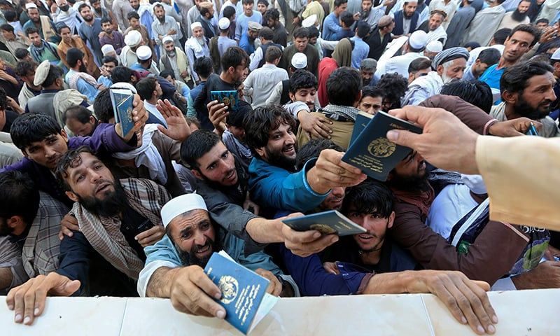 """Jalalabad stampede - The Embassy of the Islamic Republic of Pakistan in Afghanistan has expressed its deep grief and sadness over loss of Afghan lives and injuries to people in a stampede at a Stadium in Jalalabad, five kilometers away from the Pakistani Consulate. Thousands of Afghans had gathered in the Stadium to secure Pakistani visas from the Consulate, resulting in a stampede which left at least 15 Afghans dead and more than a dozen injured. """"We sympathize with the families of those who have lost their lives and those who have been injured in this unfortunate incident,"""" said a statement issued by Pakistan Embassy in Kabul. The statement said that we would like to emphasize again that in view of brotherly relations between Pakistan and Afghanistan, Pakistan Embassy in Kabul and our Consulates in Jalalabad, Kandahar, Herat and Mazar-e-Sharif continue to issue multiple entry visas to the Afghan applicants for their visits to Pakistan for family, business, medical treatment, education and other purposes. It said that Pakistan has recently announced its new visa policy for enhanced facilitation to Afghan nationals for long term multiple entry visas which is being implemented by the Embassy and Consulates in Afghanistan. The statement further said that the Embassy remains committed to ensure smooth and effective management of visa applicants at our end. """"We seek the understanding and cooperation of Afghan people and authorities for better and secure management of the Afghan visa applicants,"""" it said."""