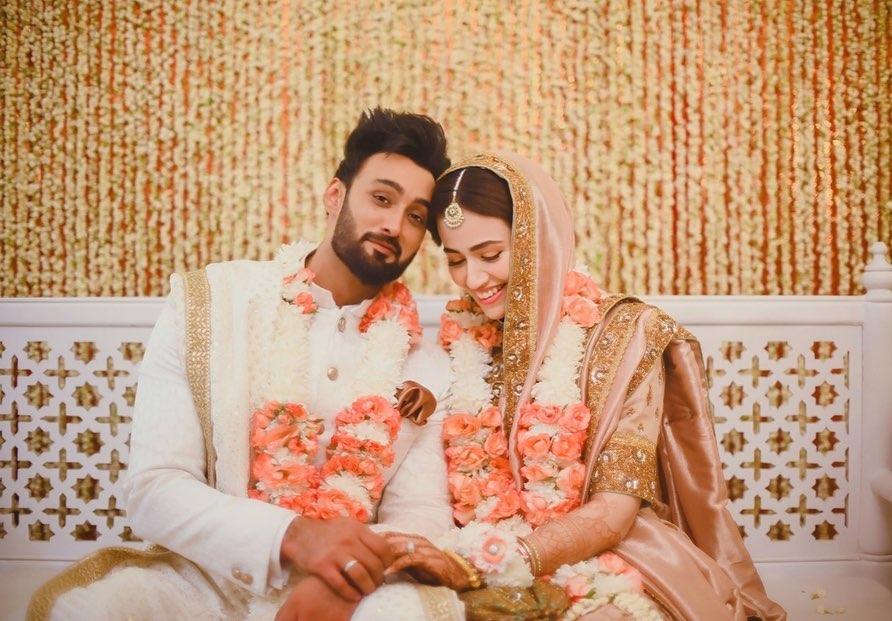 Sana Javed and Umair Jaswal - Here We Have Got Unseen Wedding Clicks!
