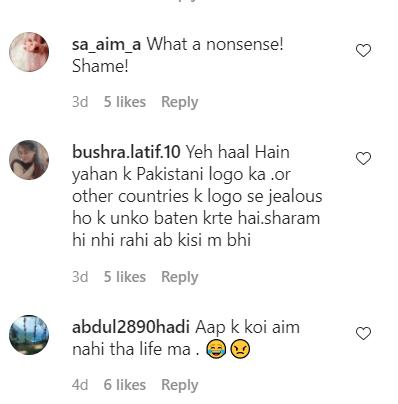 Minal Khan Criticism