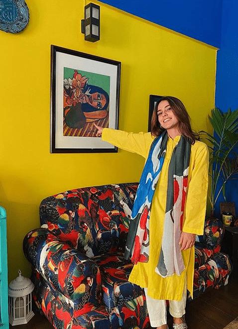 Iqra Aziz Fashion Look