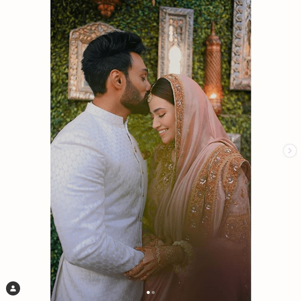 Sana Javed Shares New Pictures from Nikah Ceremony!