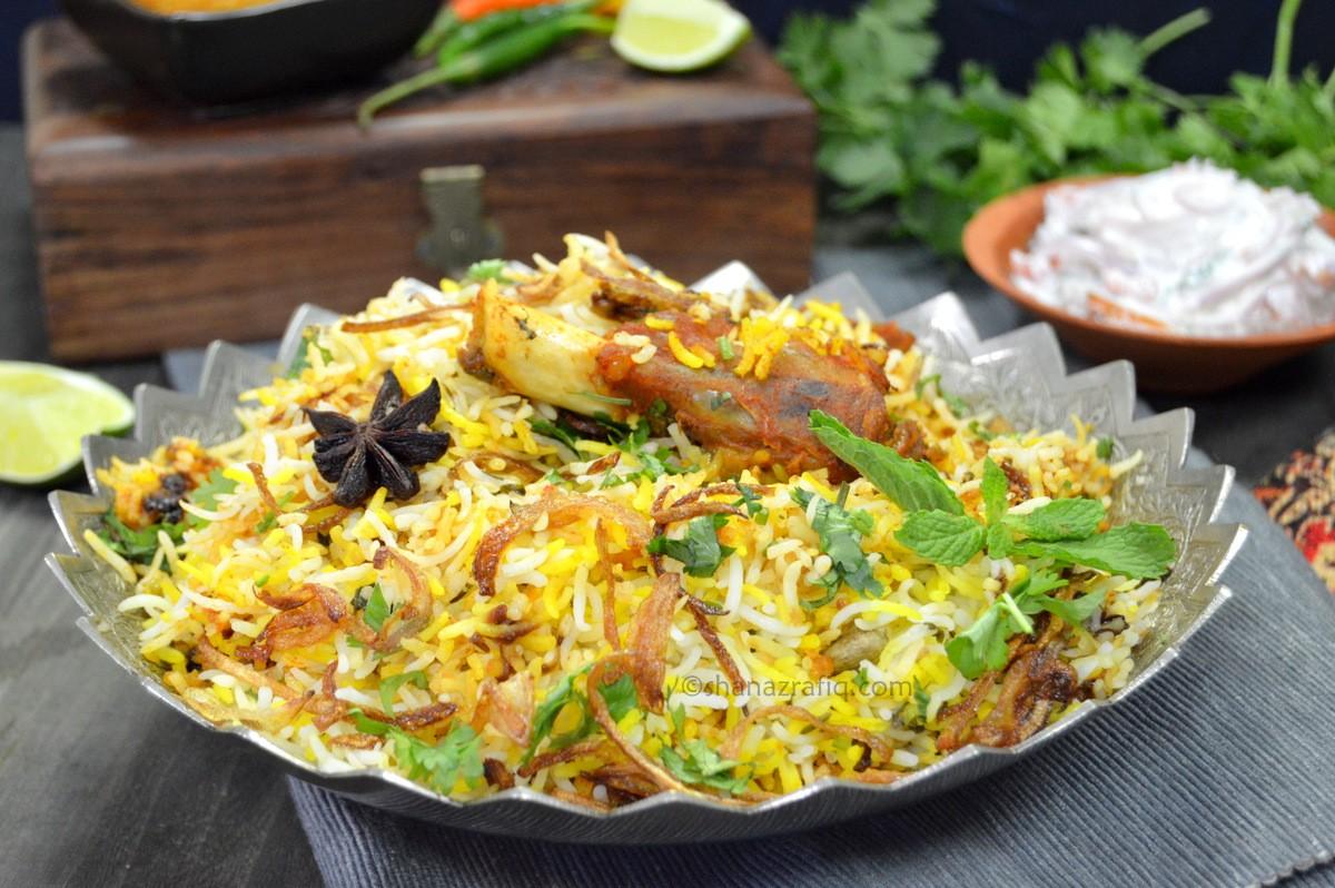 Hyderabadi Biryani - Best Recipe, Ingredients and Everything You Want!